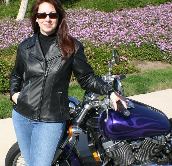 Teri and Shadow 750