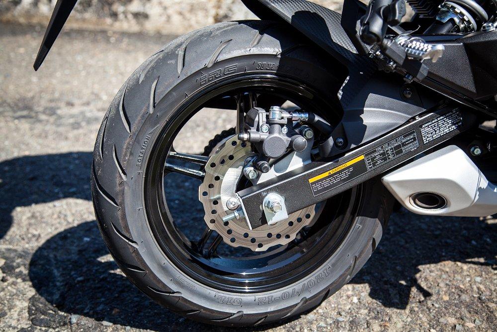 Kawasaki Z125 Brakes
