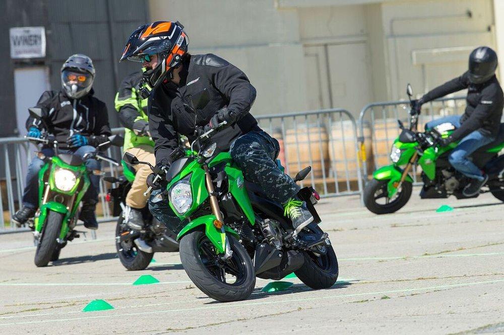 Kevin Wing Kawasaki Z125 Pro Track