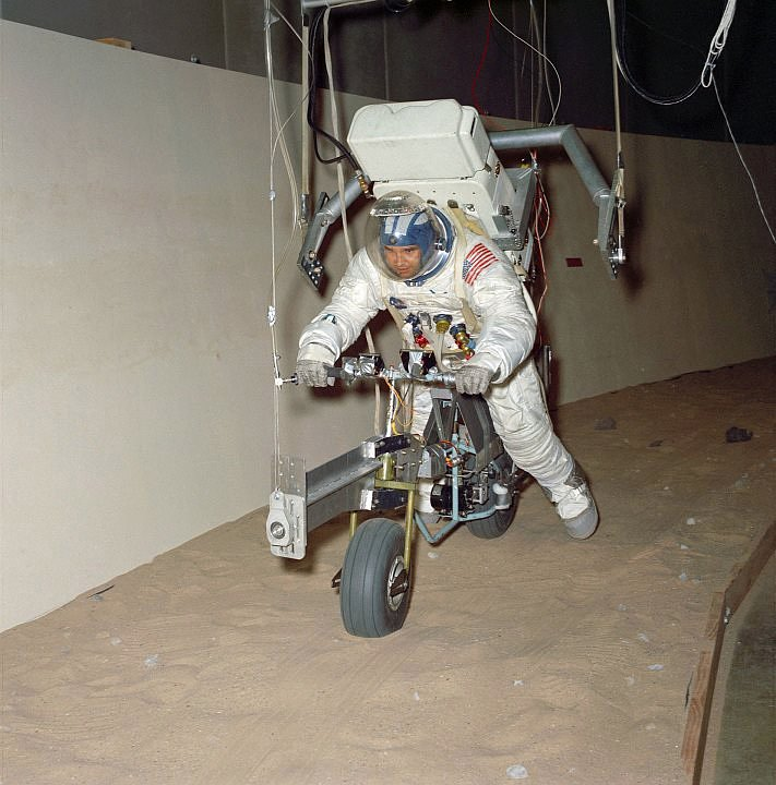 electric lunar minicycle prototype
