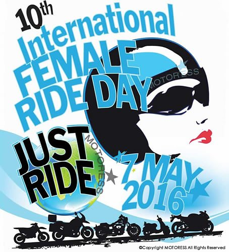 International Female Ride Day logo 2016