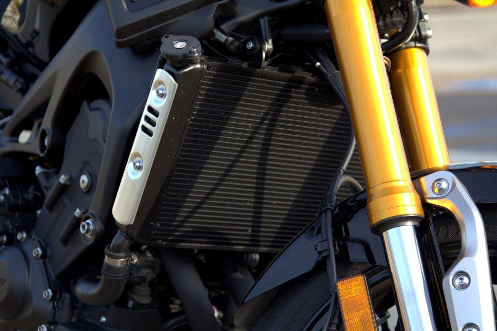 Radiator side covers