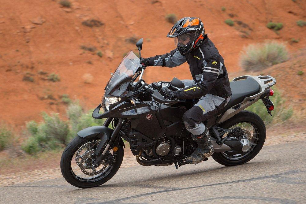 Spurgeon Dunbar Honda VFR1200X Crosstourer