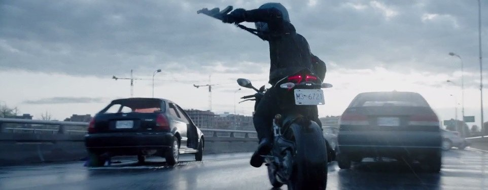 "Video: Making a motorcycle chase scene in ""Deadpool"""