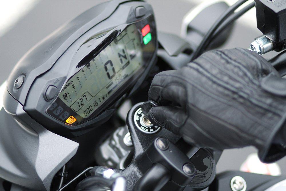 Suzuki SV650 instrument panel
