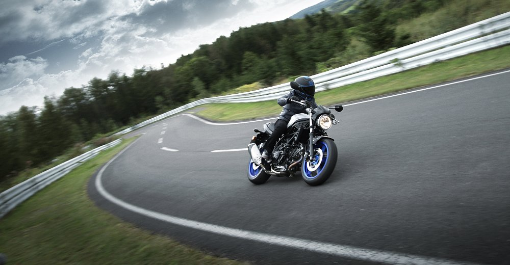 You can buy a 2017 Suzuki SV650 next month