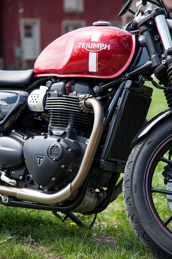 Triumph Street Twin 900cc HT Engine