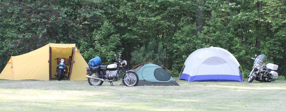 Motorcycle camping: The basics you need to get out there