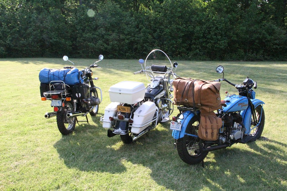 motorcycle luggage options