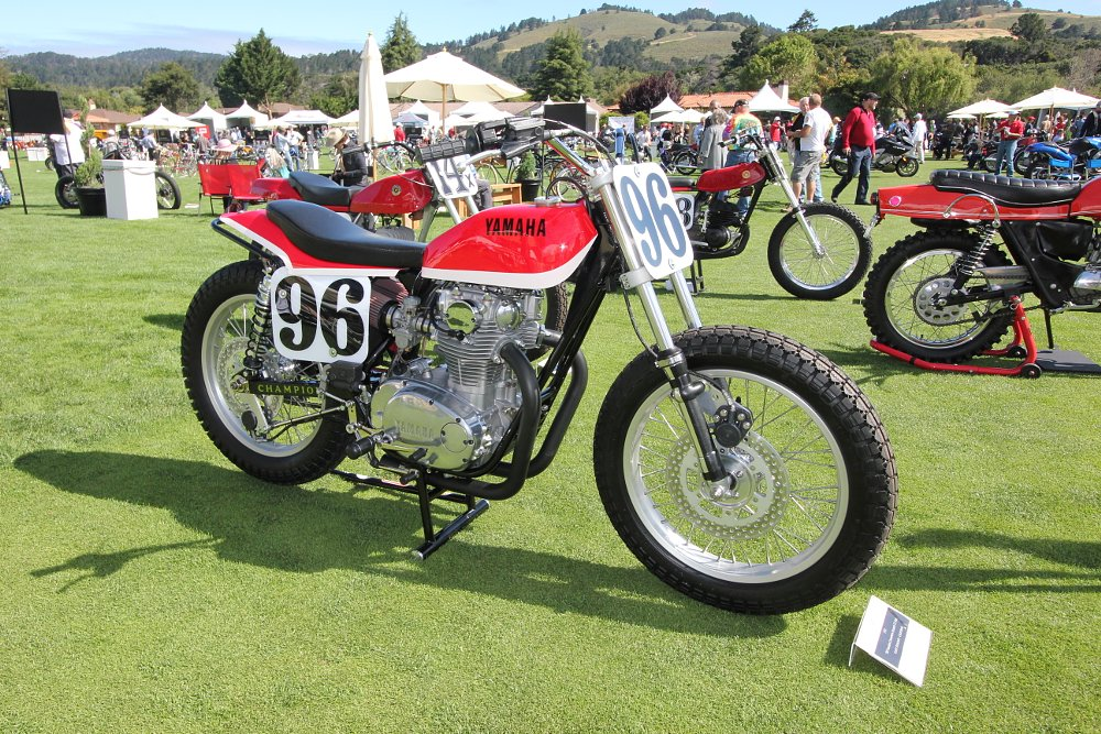 Champion-framed Yamaha
