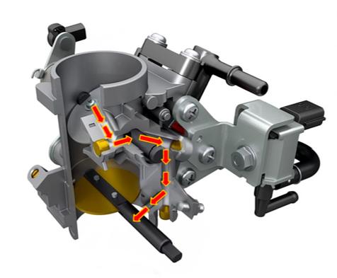 Suzuki SV650 Throttle Body