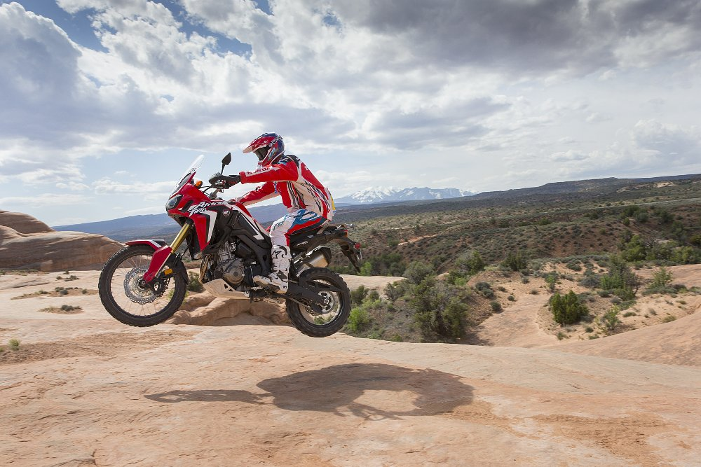 Honda Africa Twin Johnny Campbell