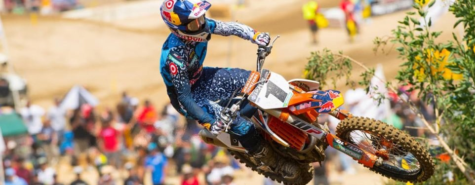 Close call: Ryan Dungey out with cracked vertebrae