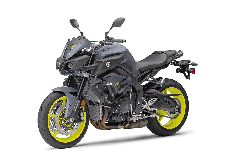 2017 Yamaha FZ-10 in armor gray