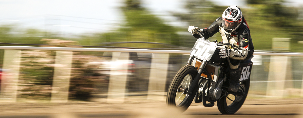 The gritty lens report: Photogs' first time at the flat-track races