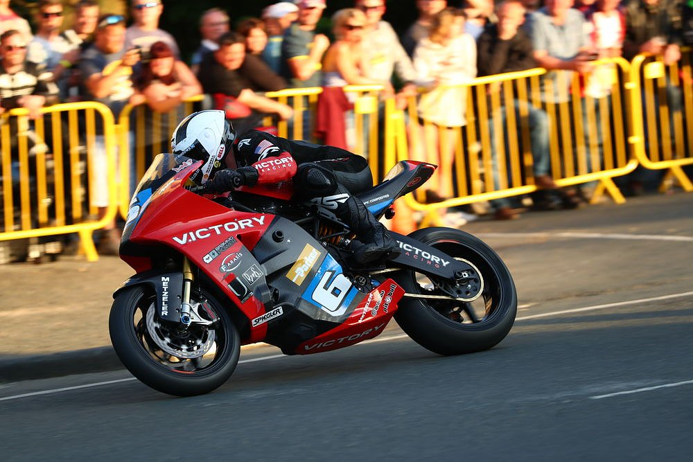 Victory RR electric race motorcycle