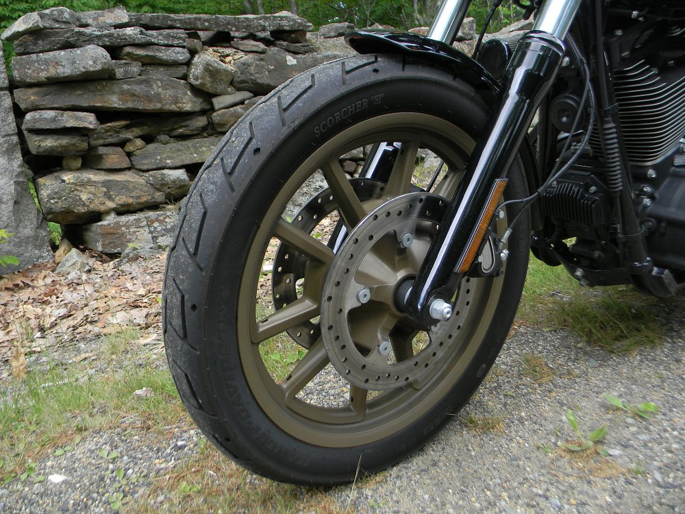 Low Rider S front brakes