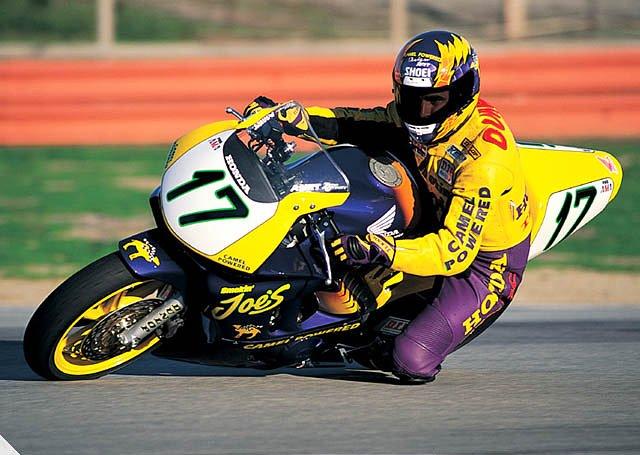 Miguel Duhamel on a Honda CBR600