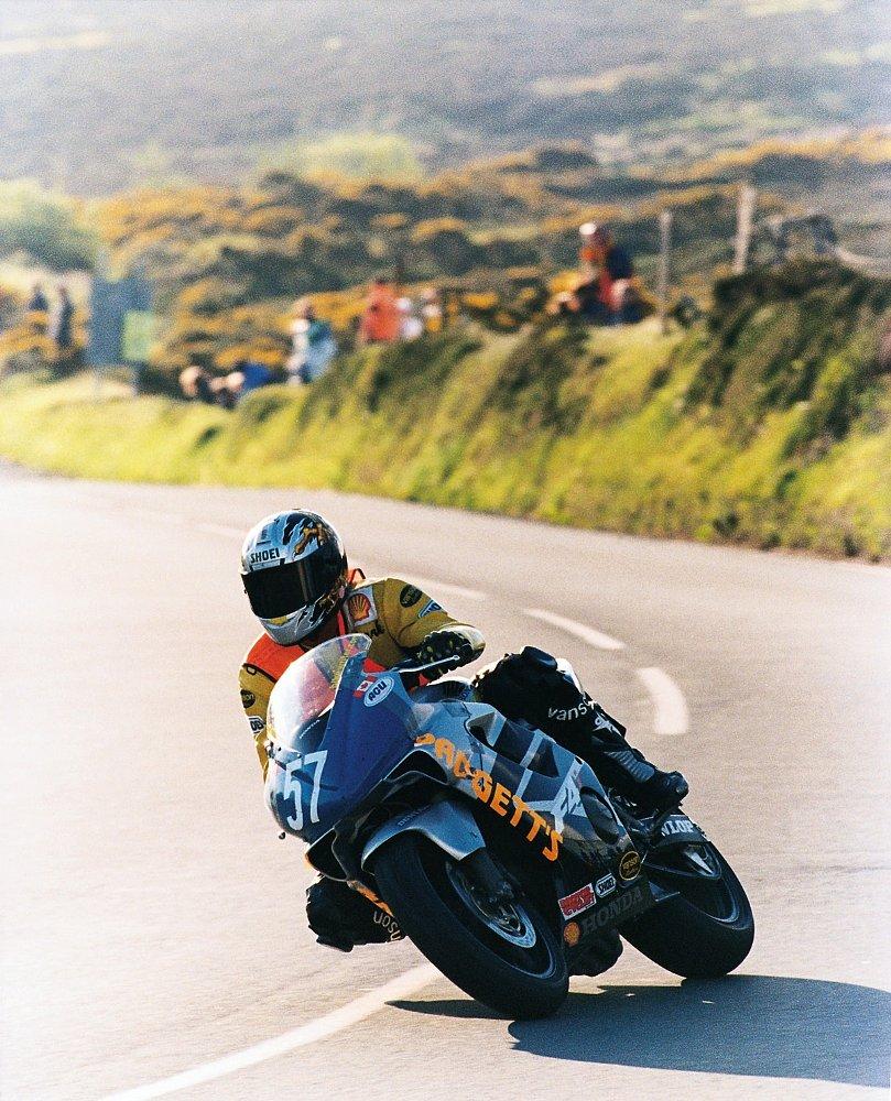 Mark Gardiner at the Isle of Man TT