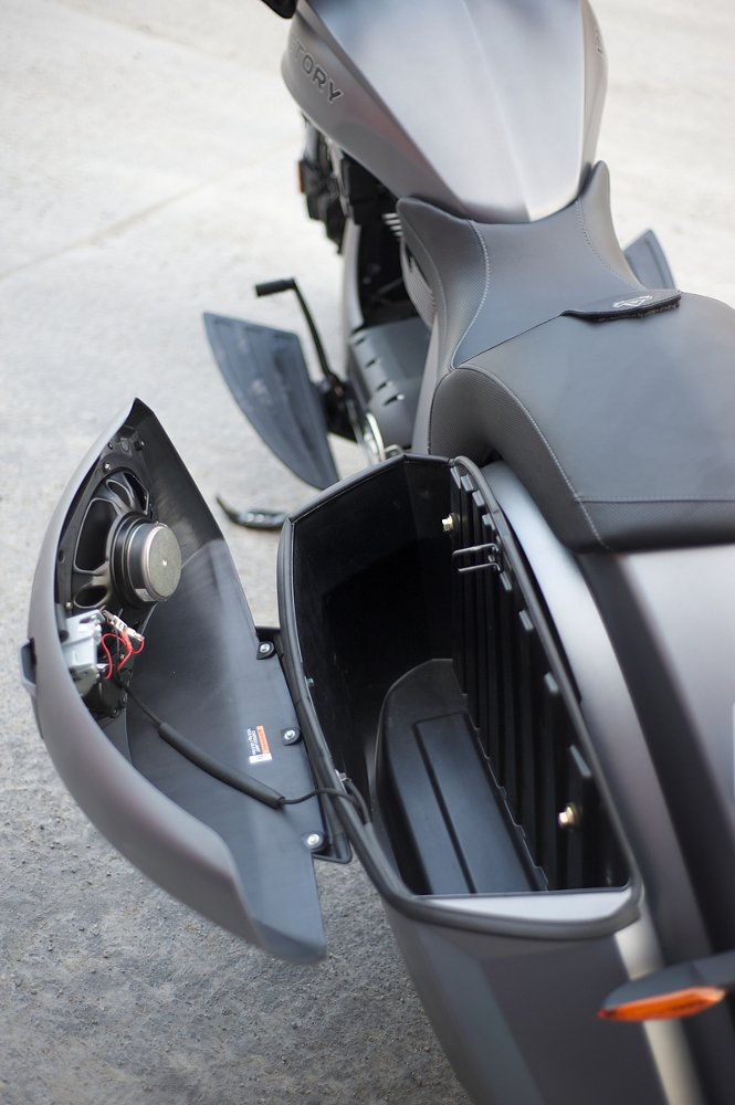 Victory Magnum X-1 saddlebags