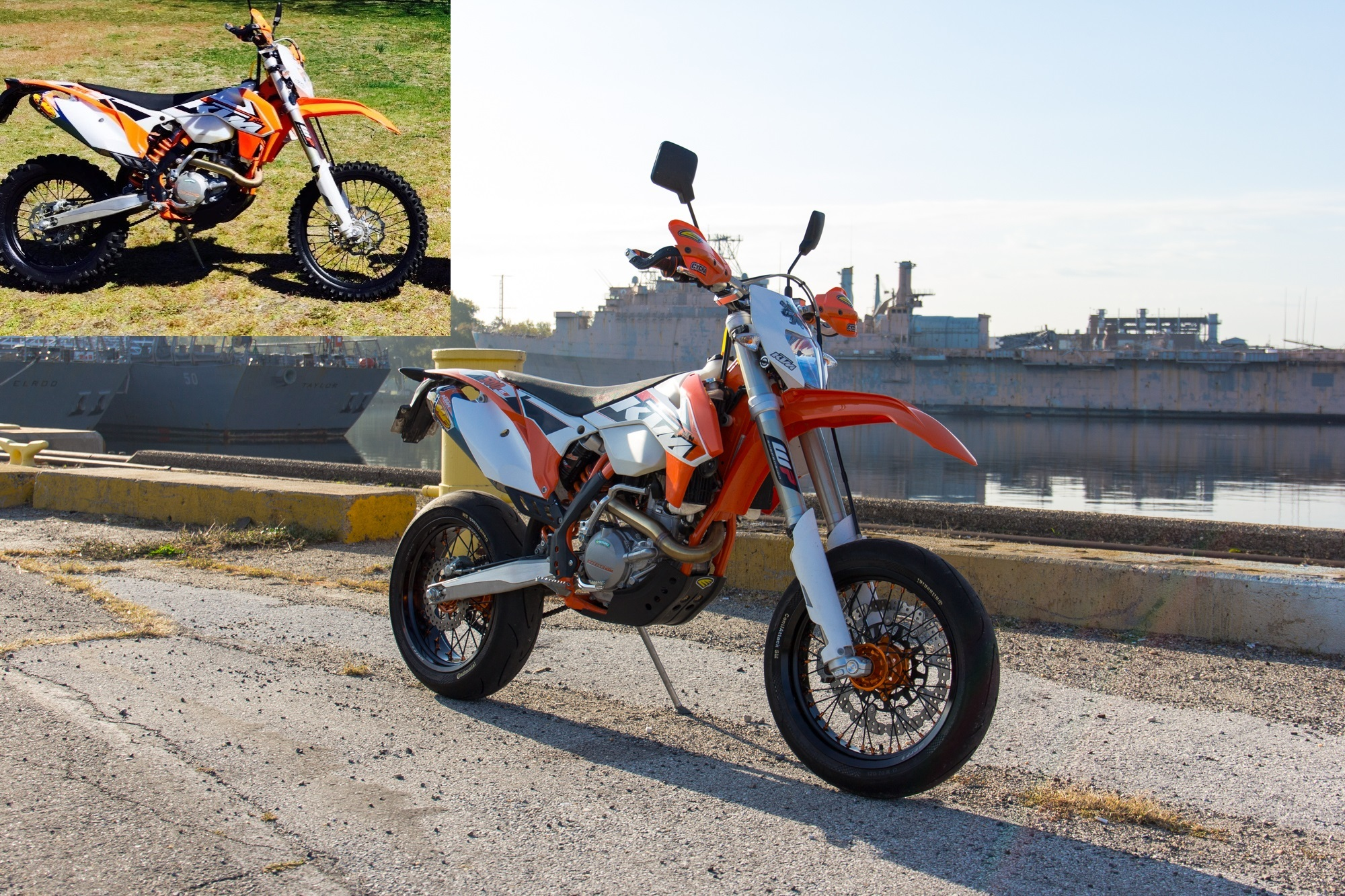 Tech Why Its Easier To Swap Wheels On An Older Ktm Revzilla Wiring Diagram 2006 200 Exc