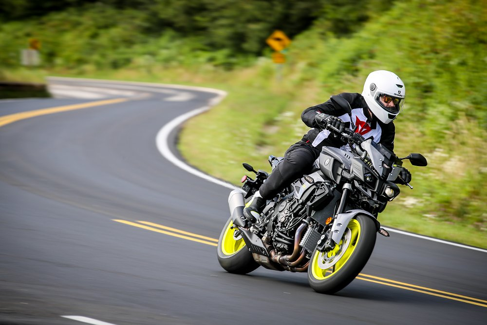 Spurgeon Dunbar and 2017 Yamaha FZ-10