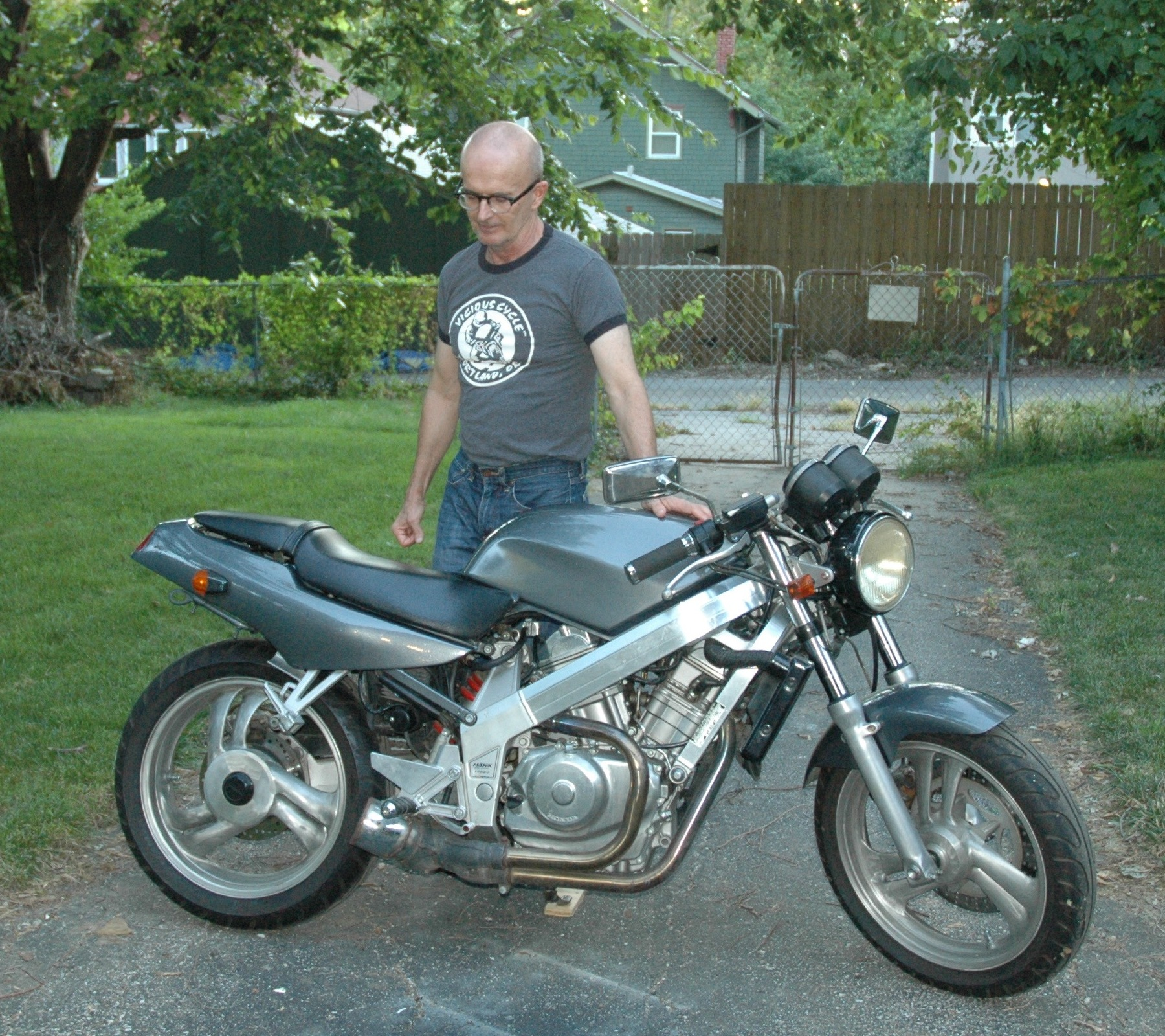 The joy of Craigslist: This is not the motorcycle he expected to buy