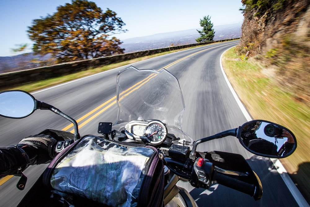 Triumph Tiger 800 XCx Skyline Drive Virginia