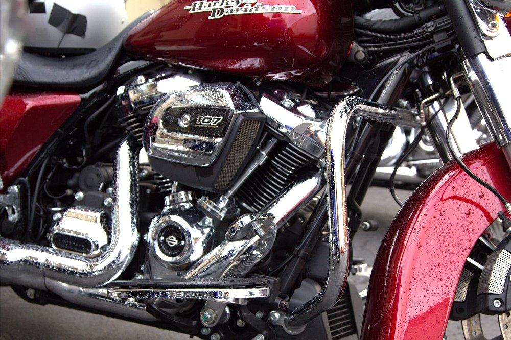 Engine in the bike