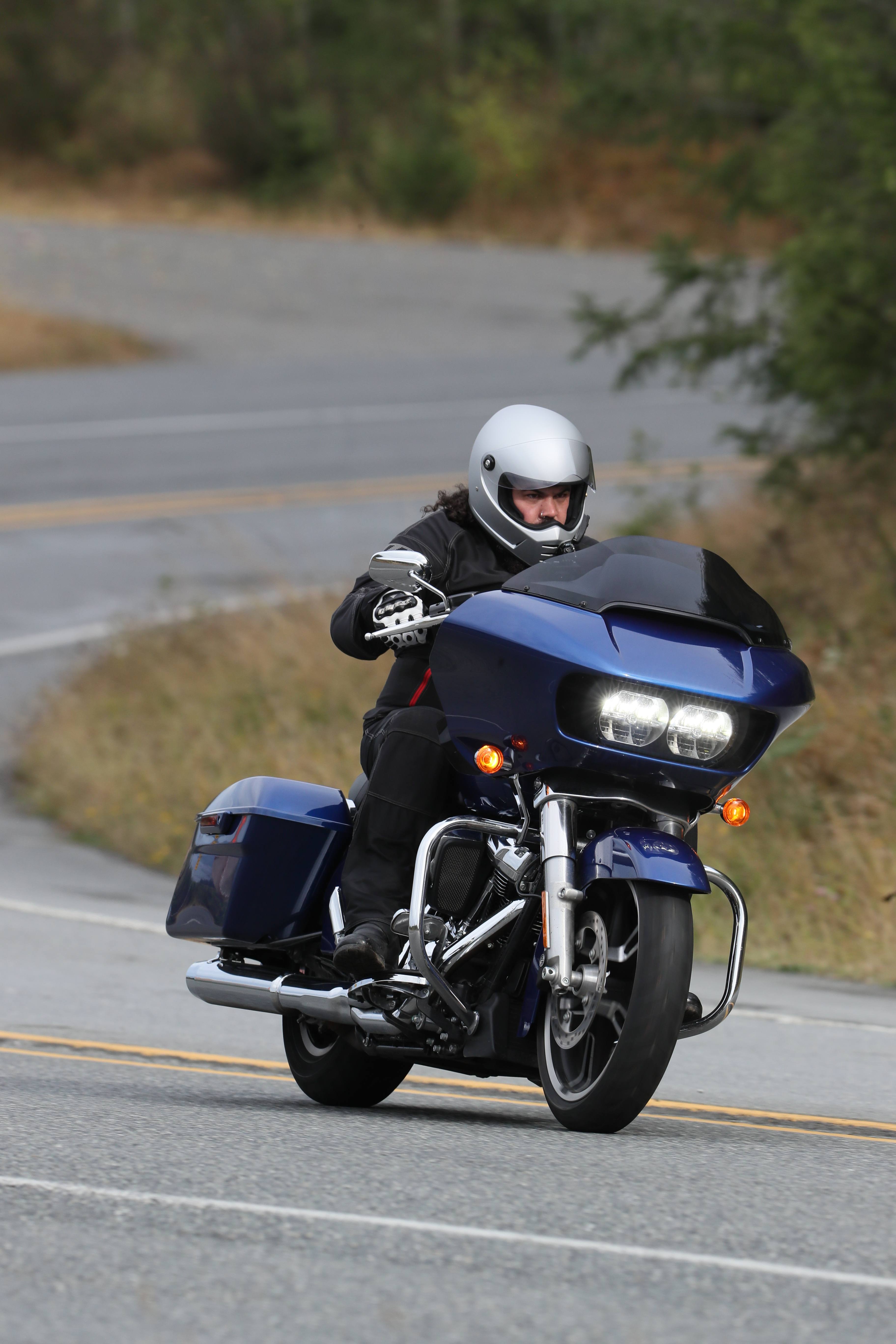 Inside and astride the Harley-Davidson Milwaukee-Eight