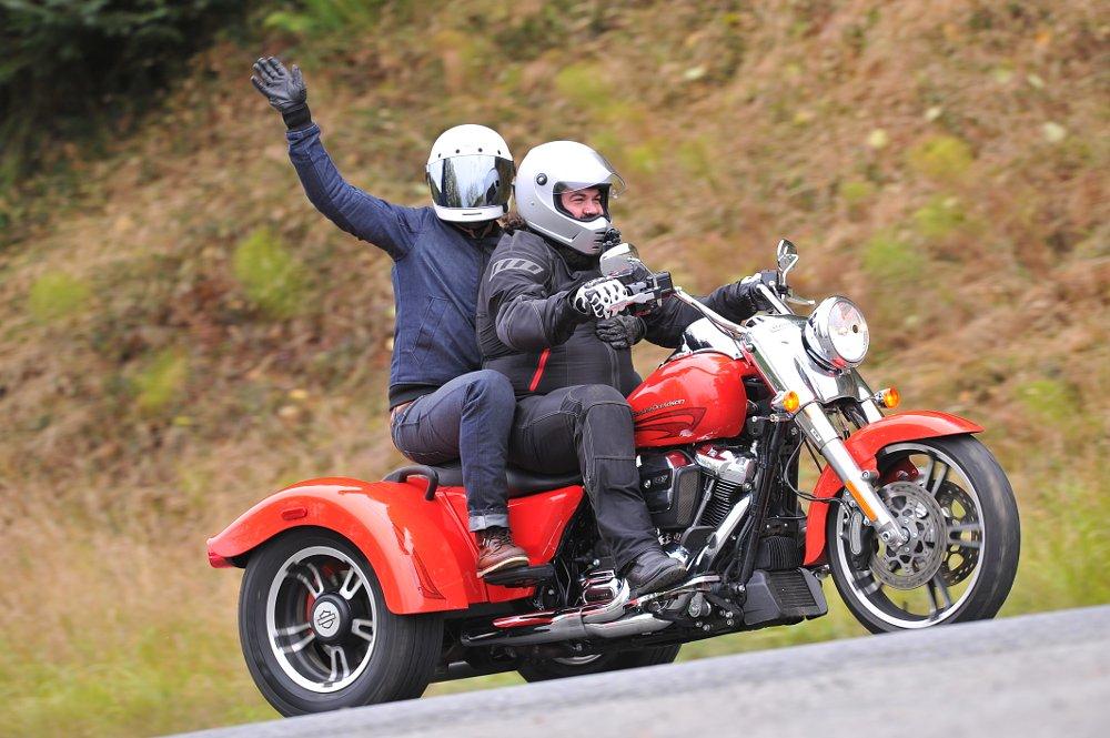 Pillion & Rider
