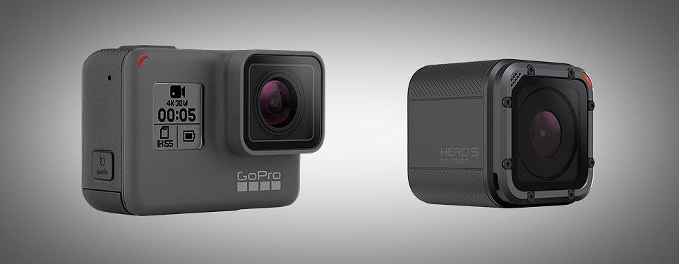 GoPro unveils new Hero5 Black and Hero5 Session
