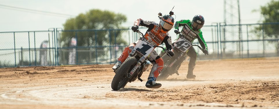 Former friends will settle the AMA Flat Track title this weekend