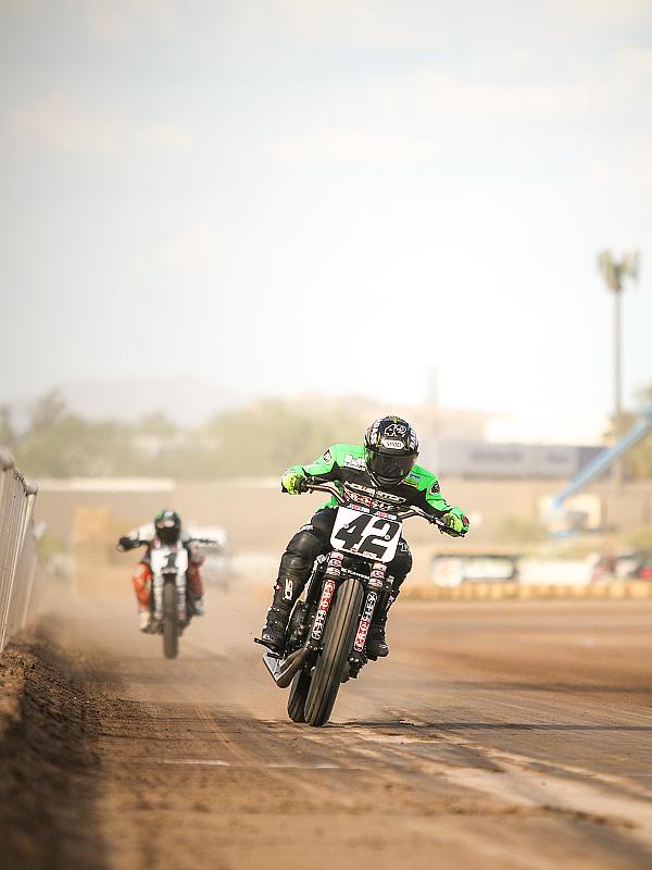 Flat-track racing