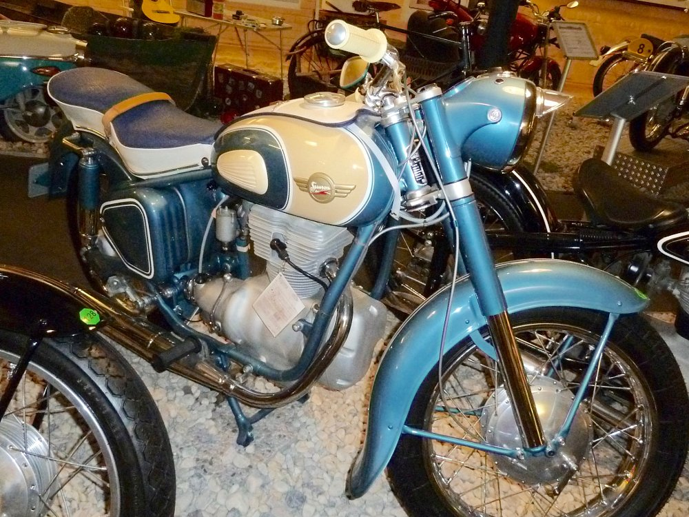 Simson motorcycle