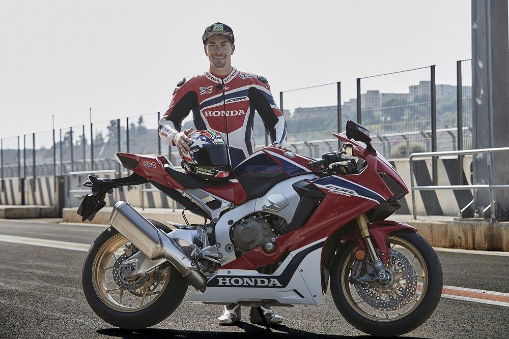 2017 Honda CBR1000RR with Nicky Hayden
