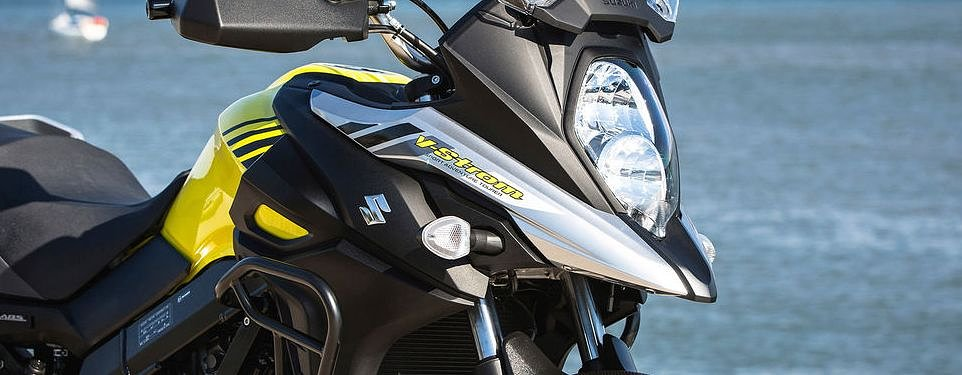 2017 Suzuki V-Strom 650 XT first look