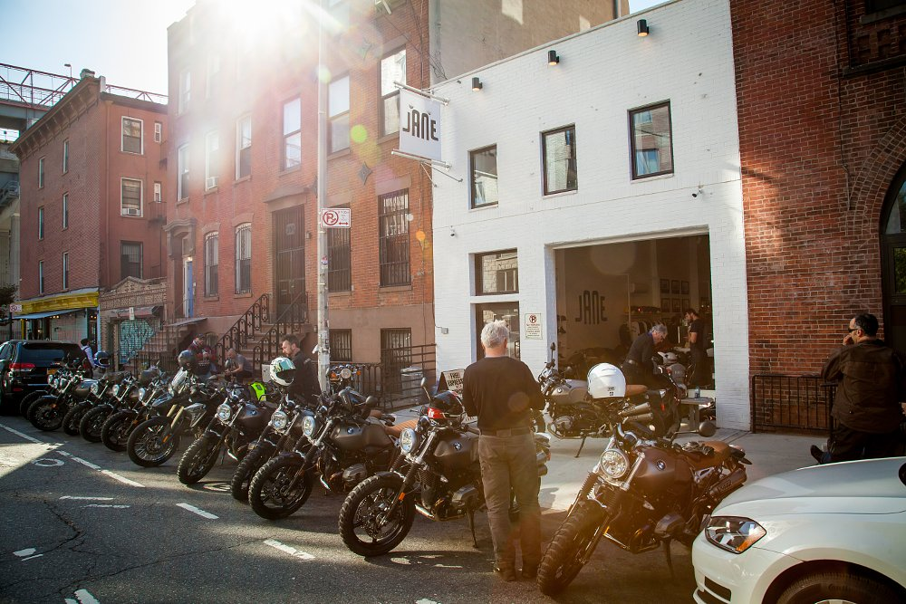 BMW R nineT Scrambler and Jane motorcycles