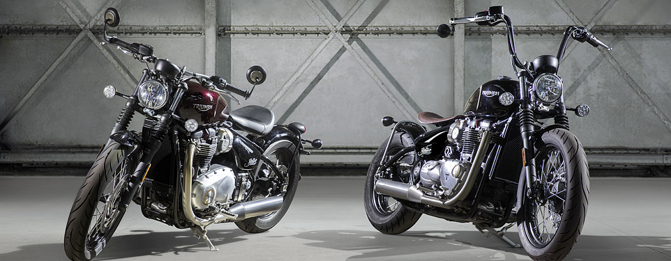 Triumph introduces the Bonneville Bobber