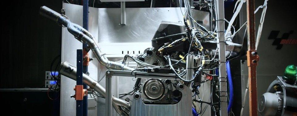 Video: Inside KTM's MotoGP test lab