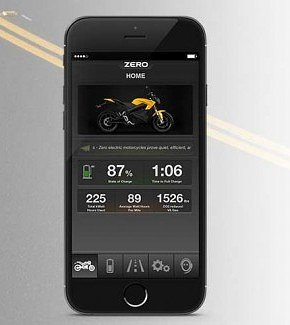 Zero Motorcycles app
