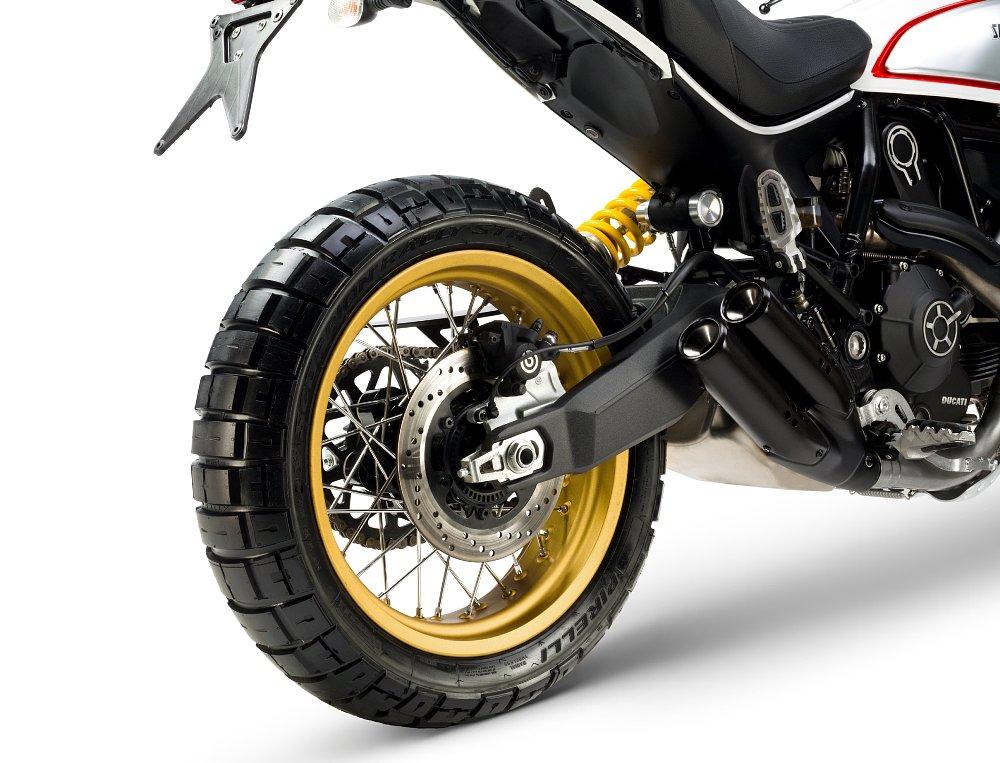 2017 Ducati Scrambler Desert Sled Pirelli Scorpion tires