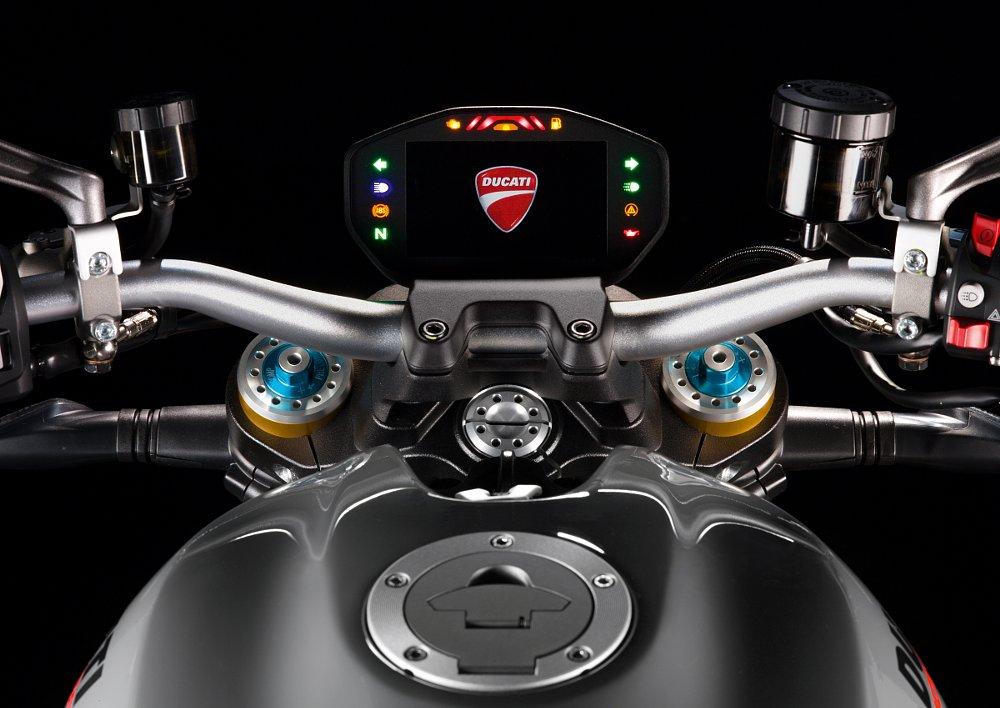 Ducati Monster 1200S TFT panel