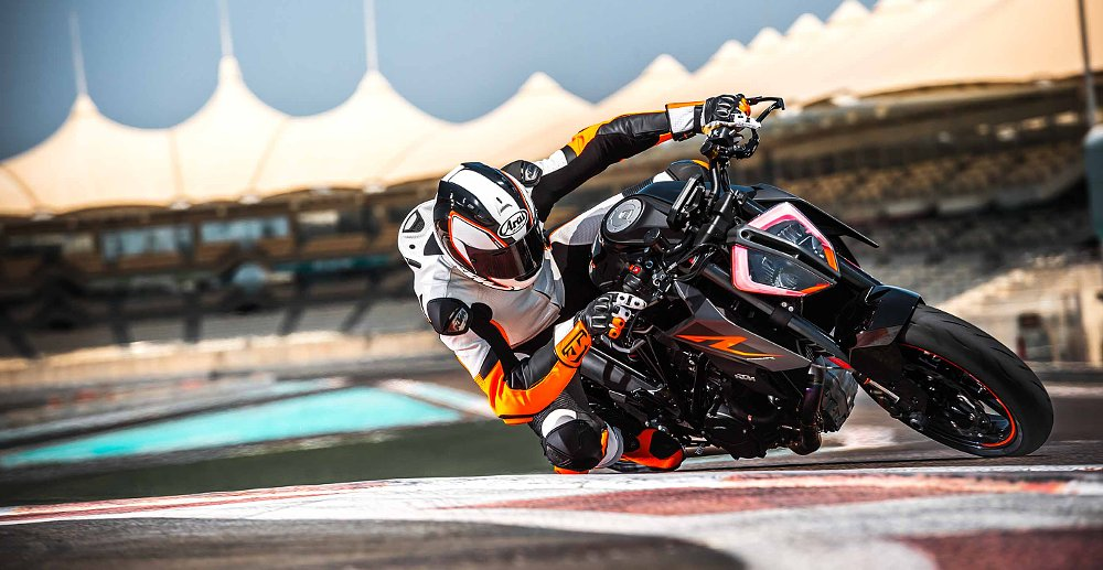 More power and performance for KTM's 1290 Super Duke R and 390 Duke