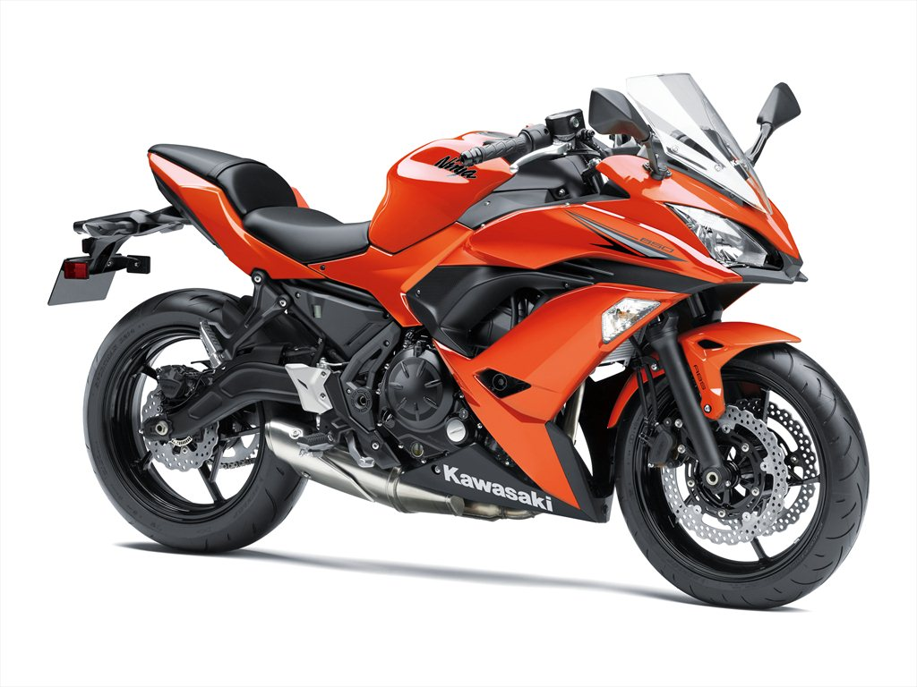 A Smaller Versys Smarter Ninja And Other Green Surprises Revzilla Z250sl Abs Orange