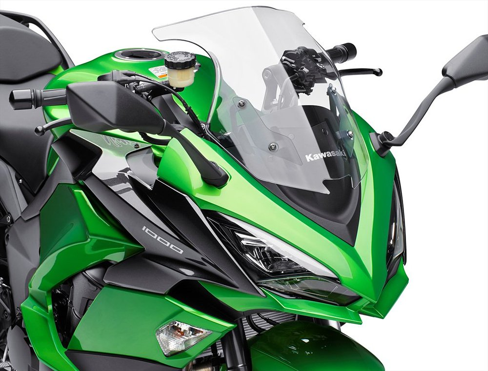 2017 Kawasaki Ninja 1000 LED headlights