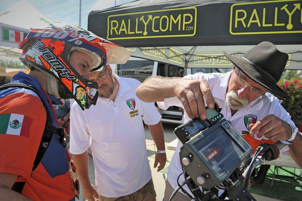 rally navigation equipment
