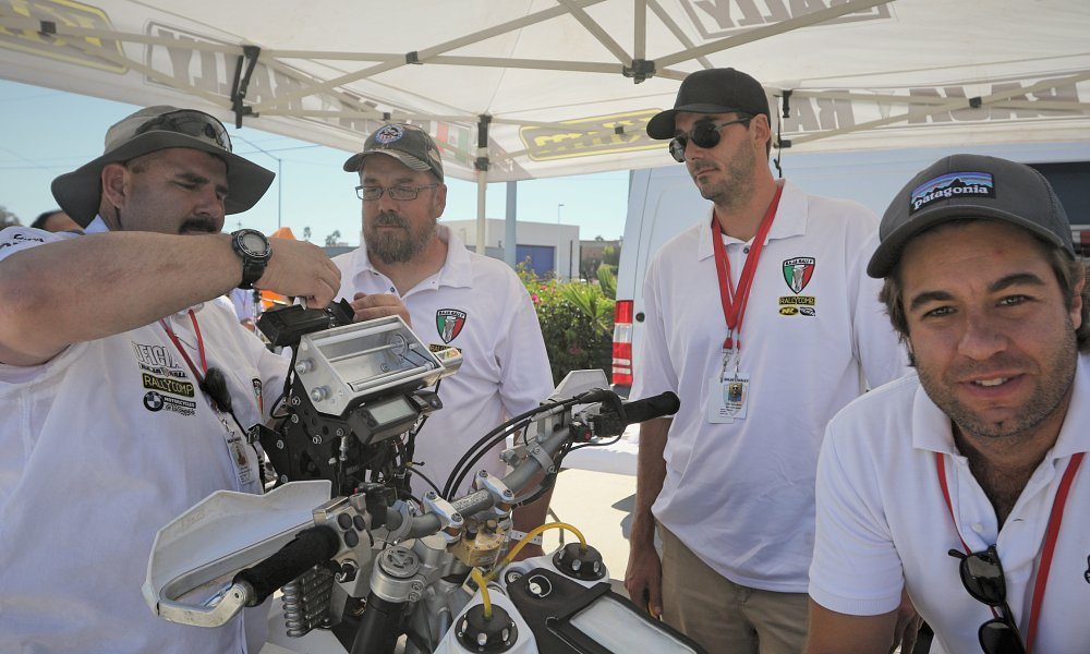 Baja Rally tech inspection