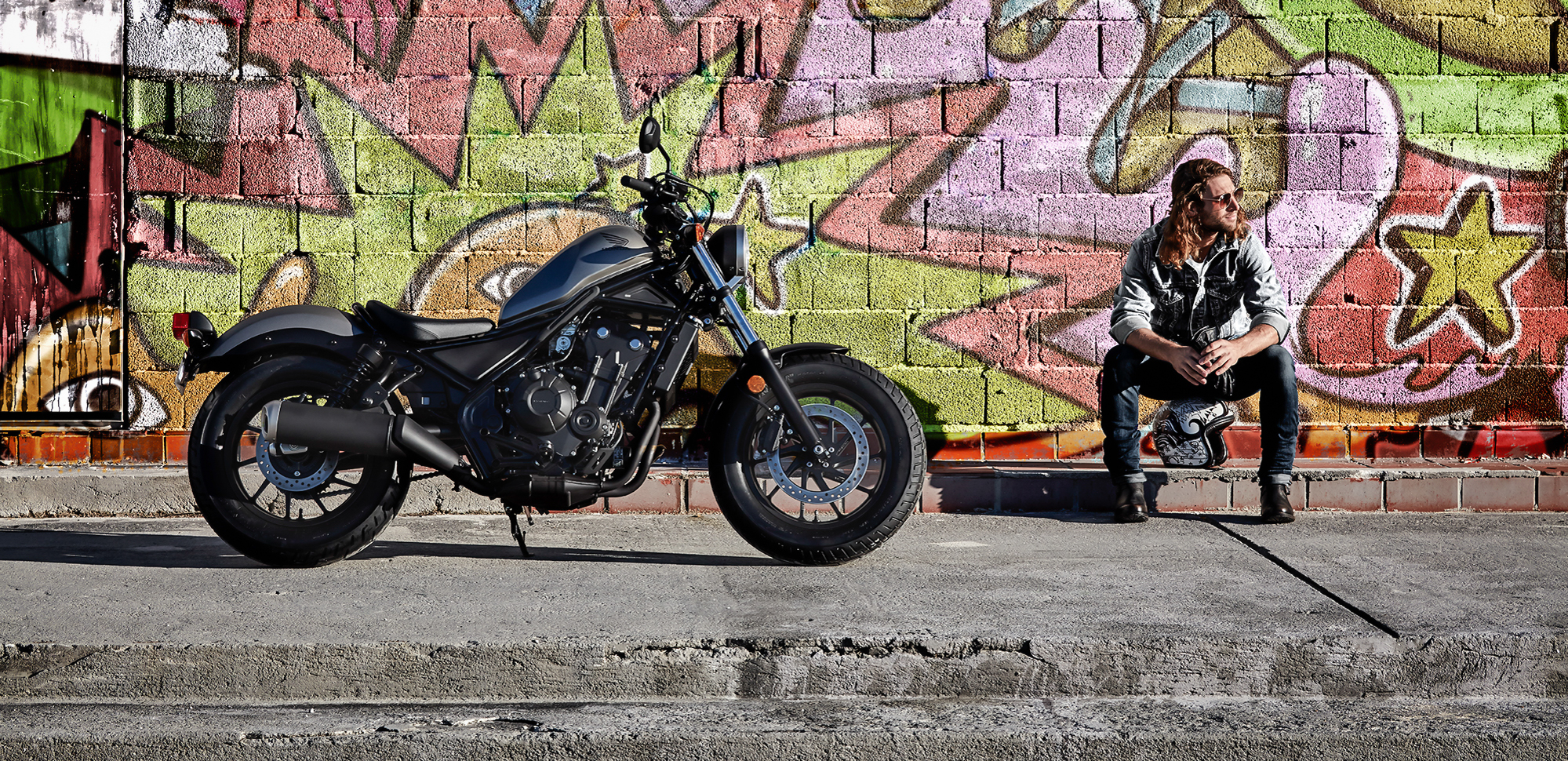 Honda introduces Rebel 300 and Rebel 500 - RevZilla