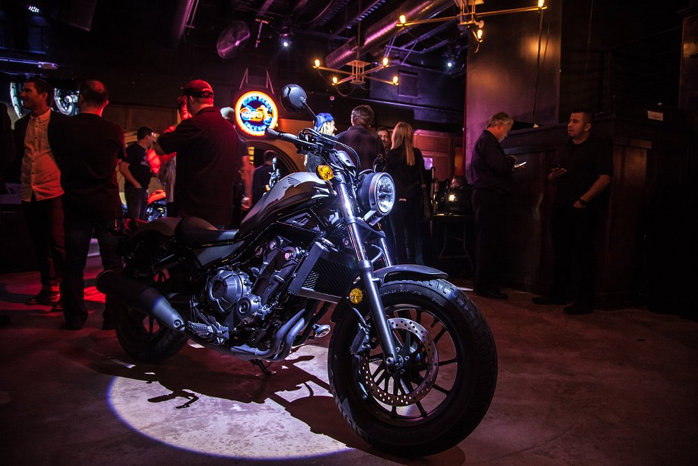 Honda Rebel 300 and Rebel 500 launch